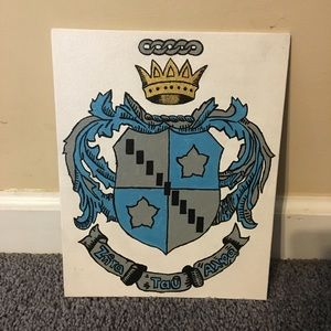 Other - 8x10 Zeta Tau Alpha crest canvas